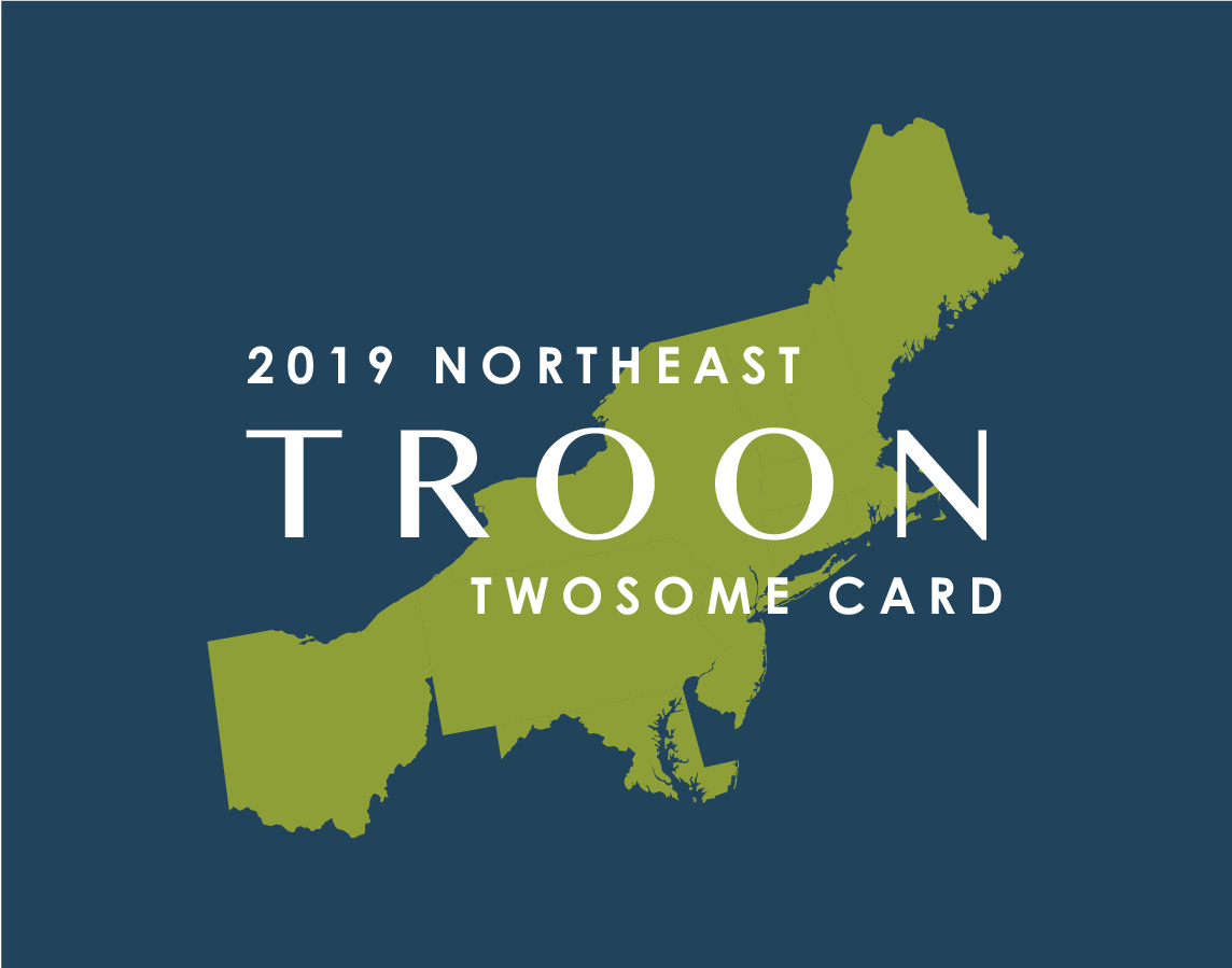 2019 Northeast TwoSome Card