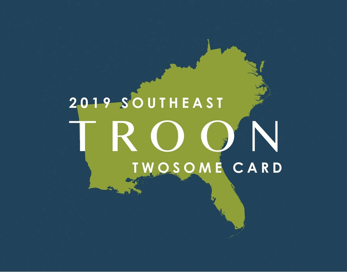 2019 Southeast TwoSome Card