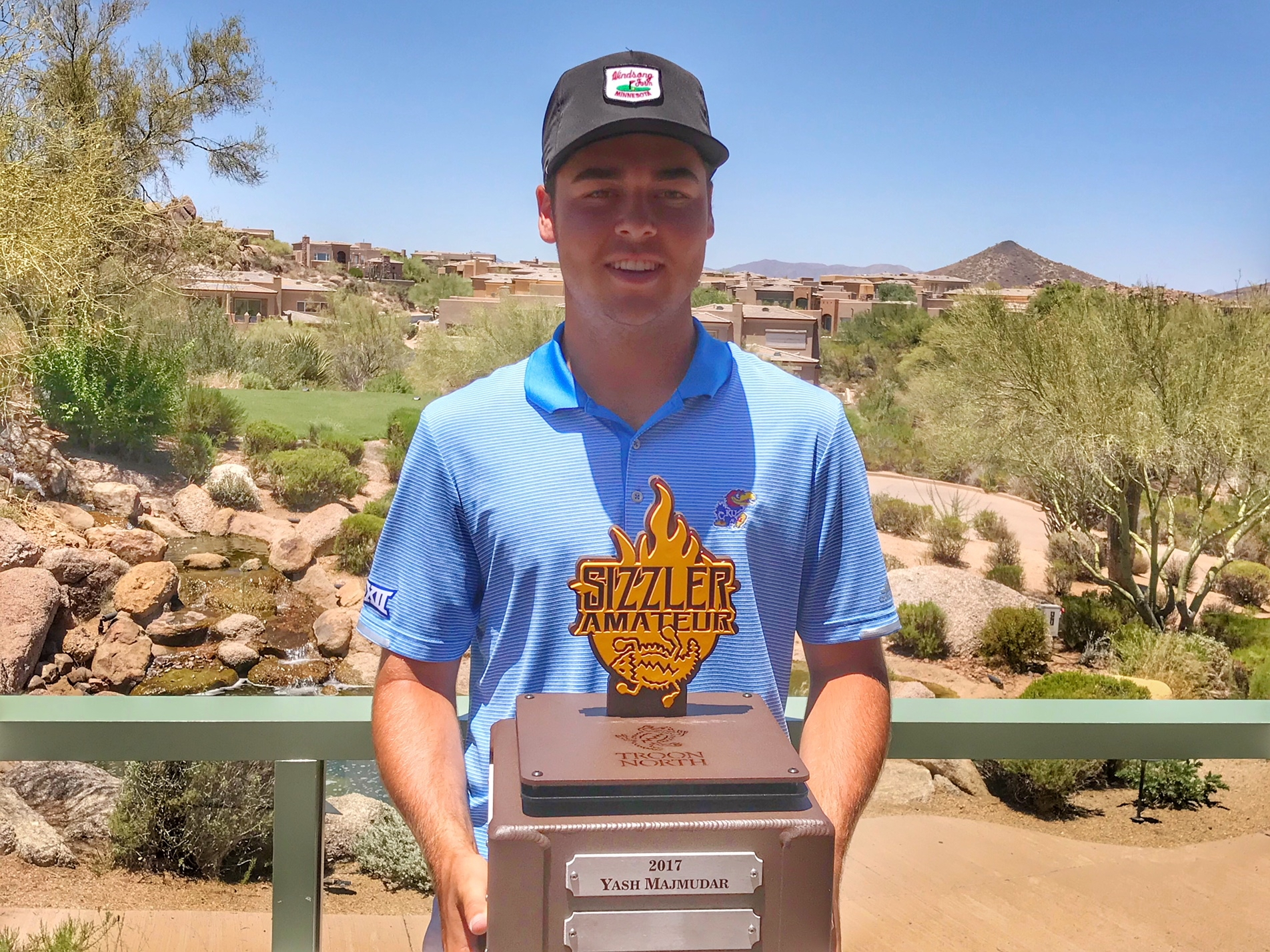 "SIGEL'S HOLE-OUT FOR EAGLE ON 17 PROPELS HIM TO VICTORY AT ""THE SIZZLER AMATEUR"" AT TROON NORTH"