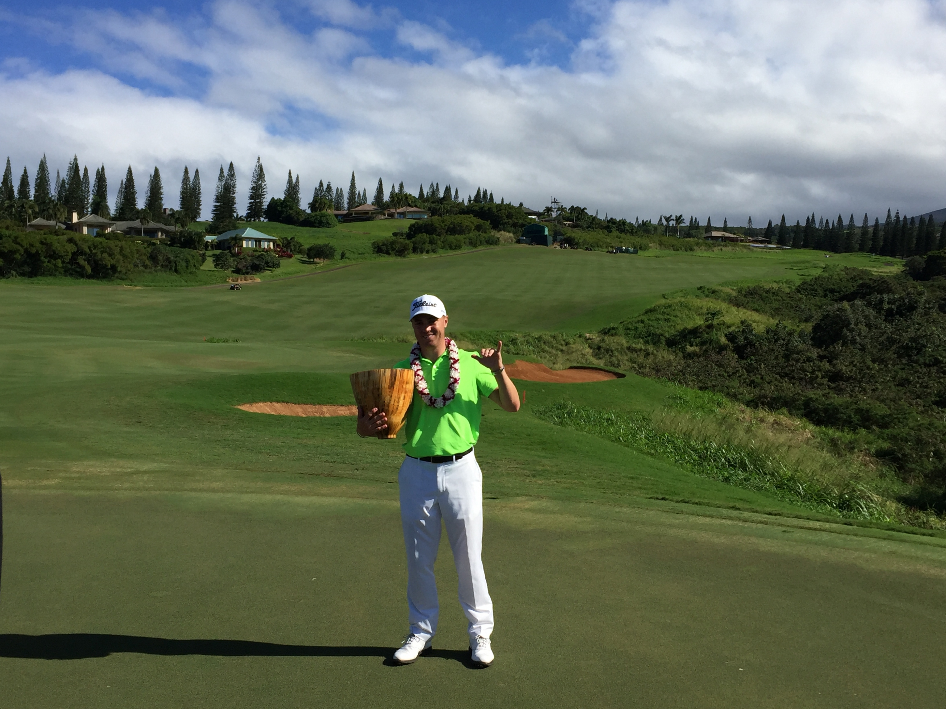 Justin Thomas Recalls Defining Moment From the 2017 Tournament of Champions at Kapalua