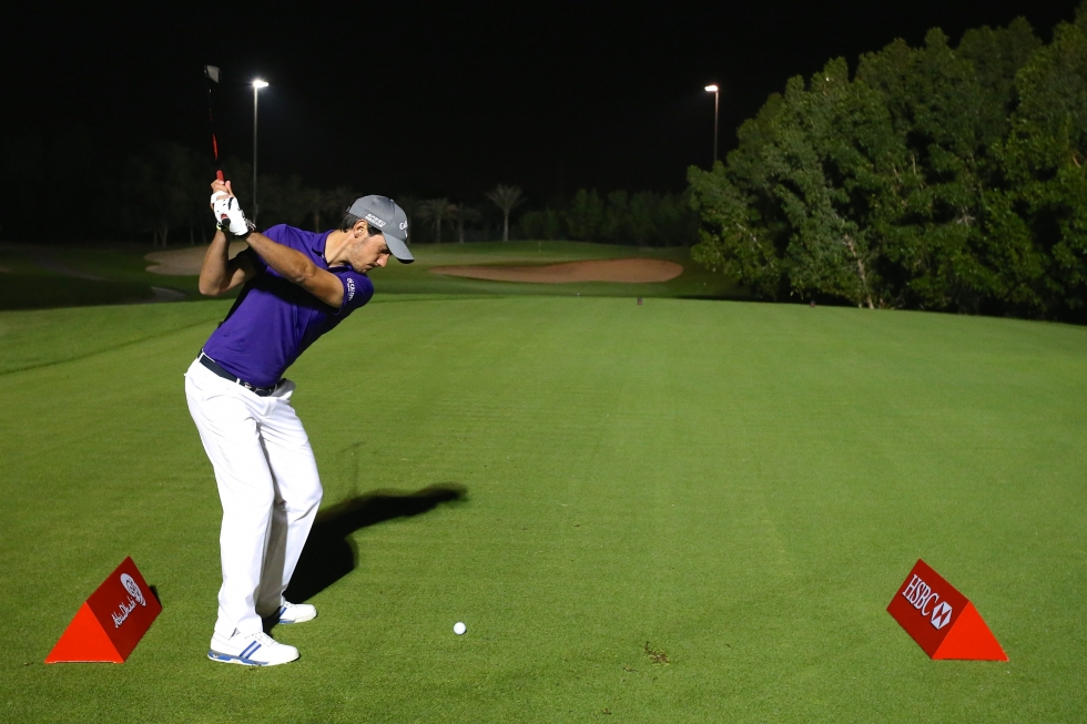 Rising Starts Light-Up Night Golf Ahead of Abu Dhabi HSBC Golf Championship