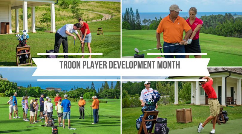 "May is ""Player Development Month"" at Troon Properties"