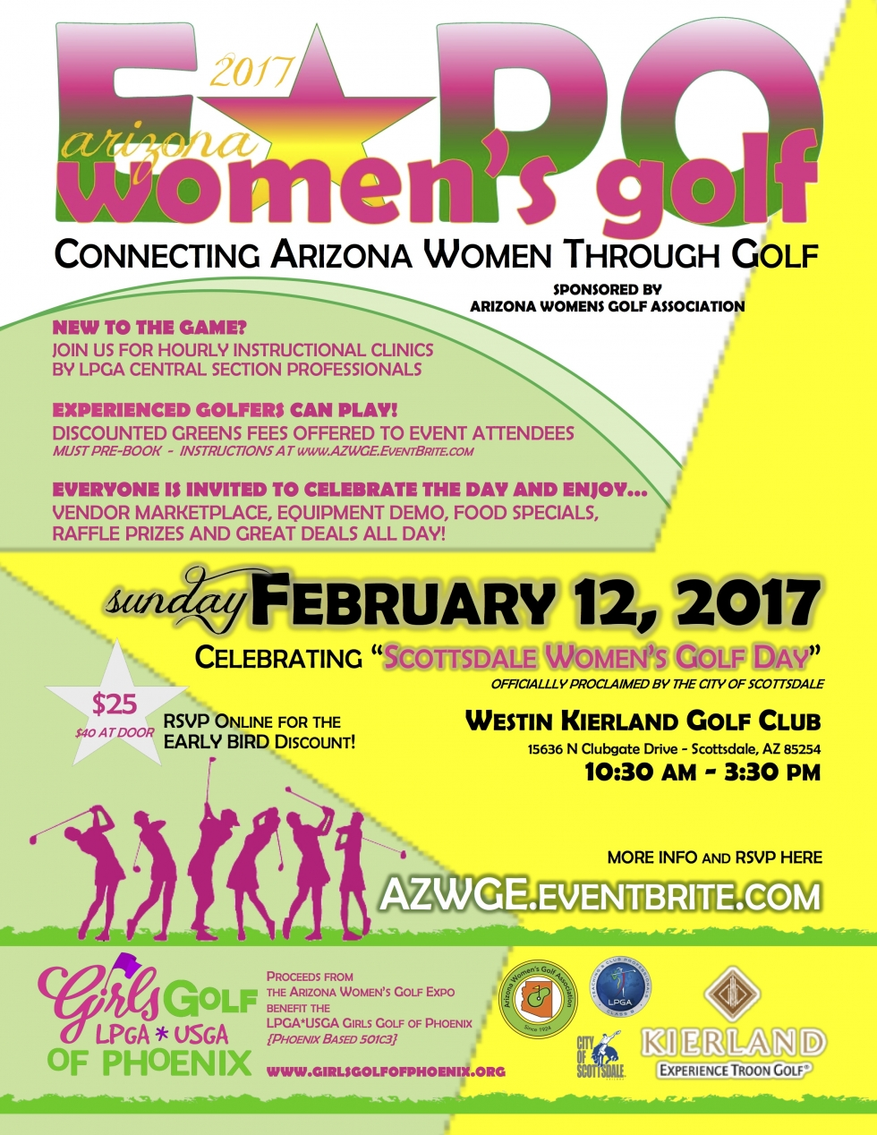 The 2017 Arizona Women's Golf Expo is Coming to the Westin Kierland