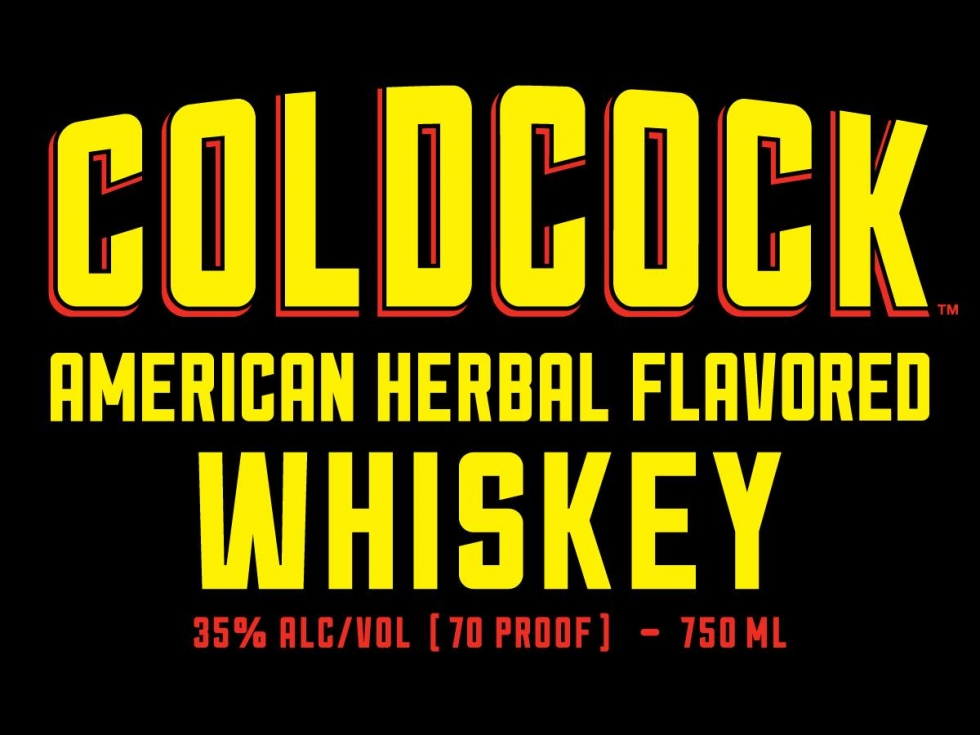 Cheers: COLDCOCK American Herbal Flavored Whiskey