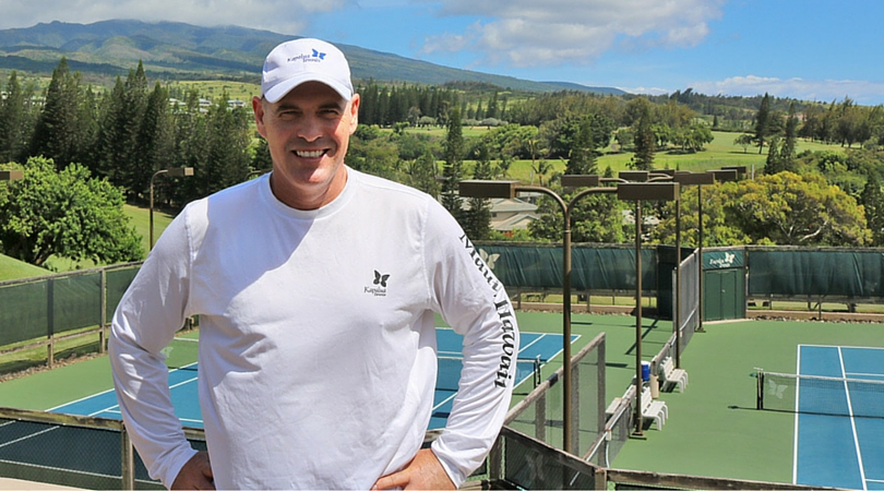 Jason Purcell Named Director of Tennis at Kapalua Golf & Tennis Club