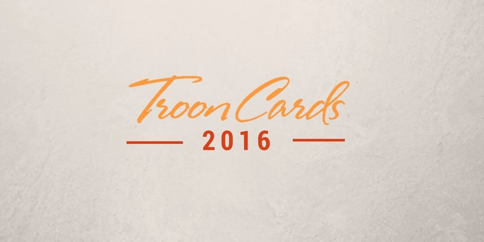 2016 Troon Cards Now Available
