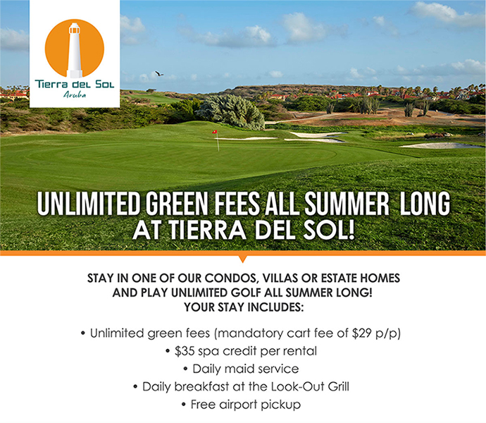 Unlimited green fees all summer long at Tierra del Sol!