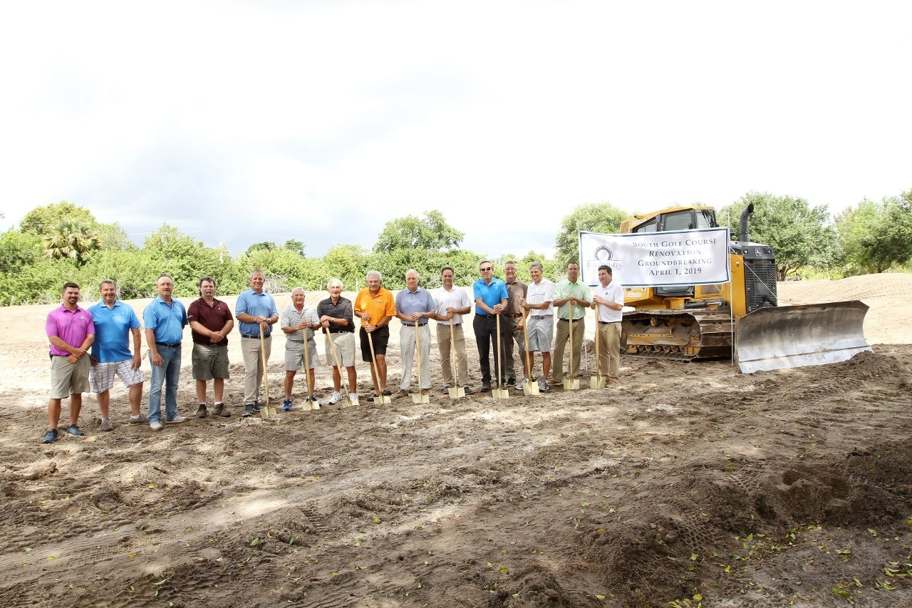 BallenIsles Country Club Breaks Ground On South Course Renovation Project