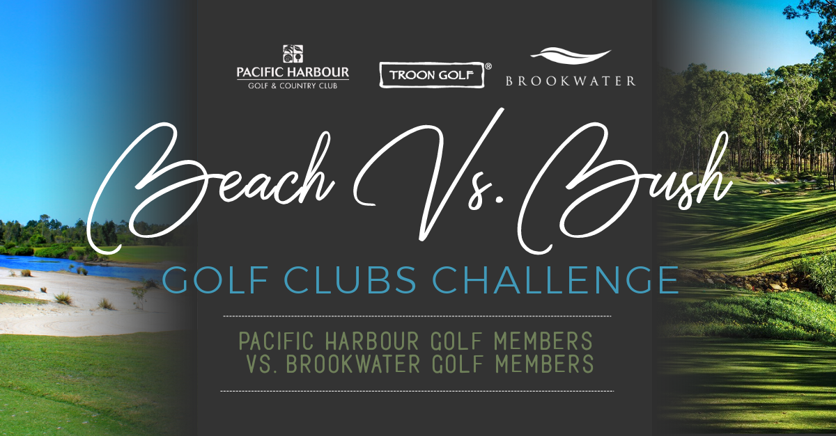 Beach Vs. Bush Golf Clubs Challenge