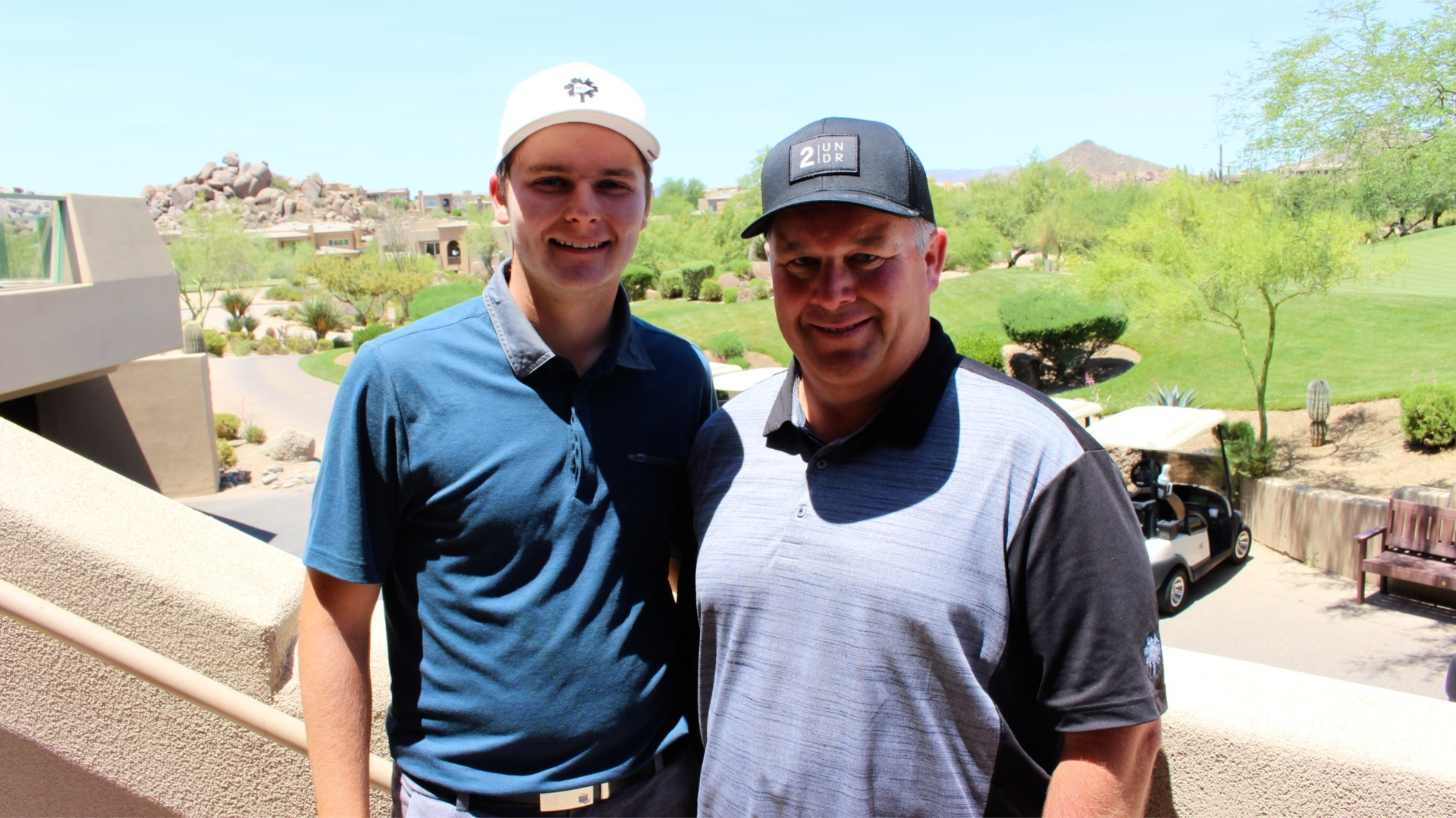 Father and Son Compete Against One Another at Sizzler Amateur