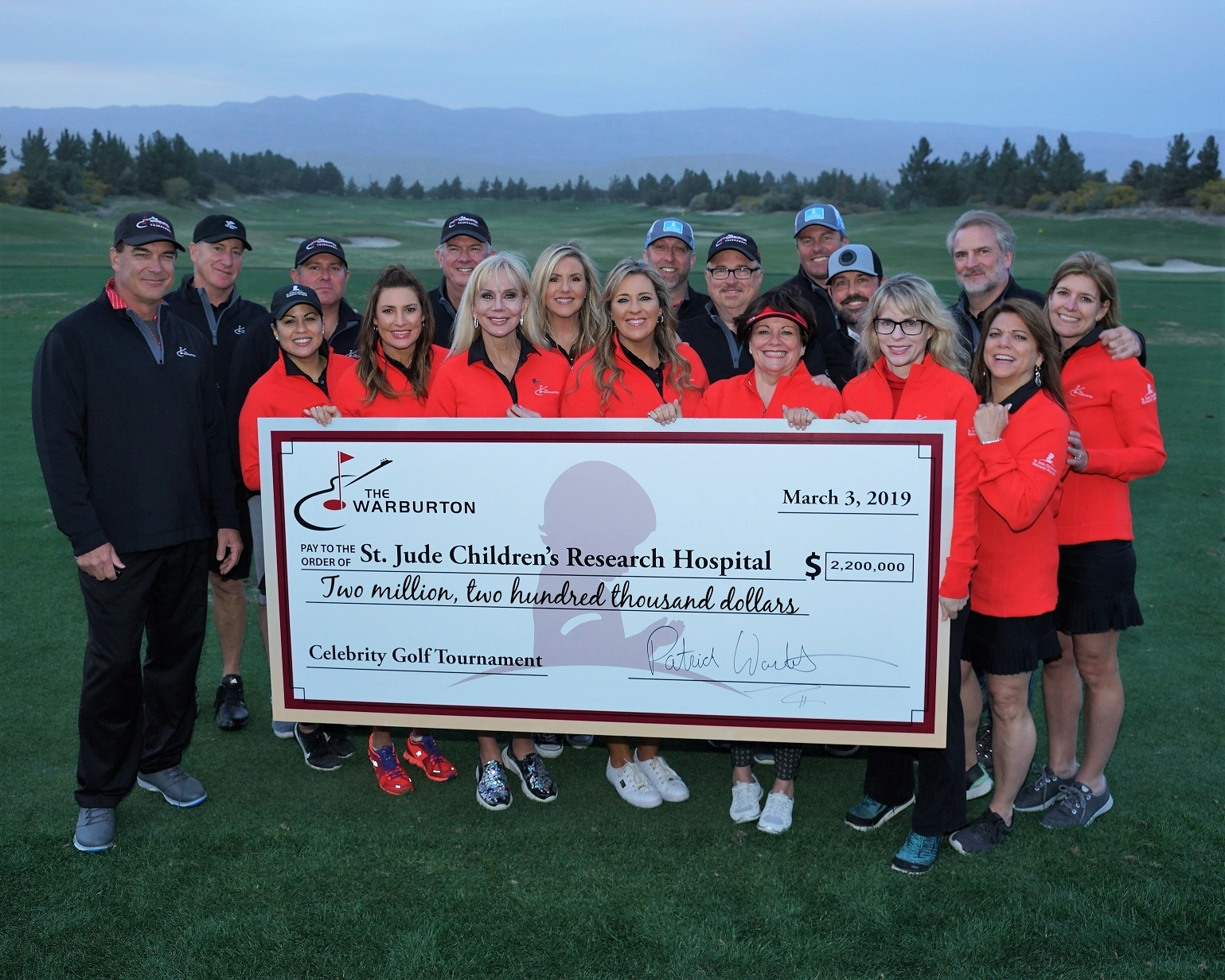 The Warburton Celebrity Golf Tournament At The Classic Club Raises $2.2 Million