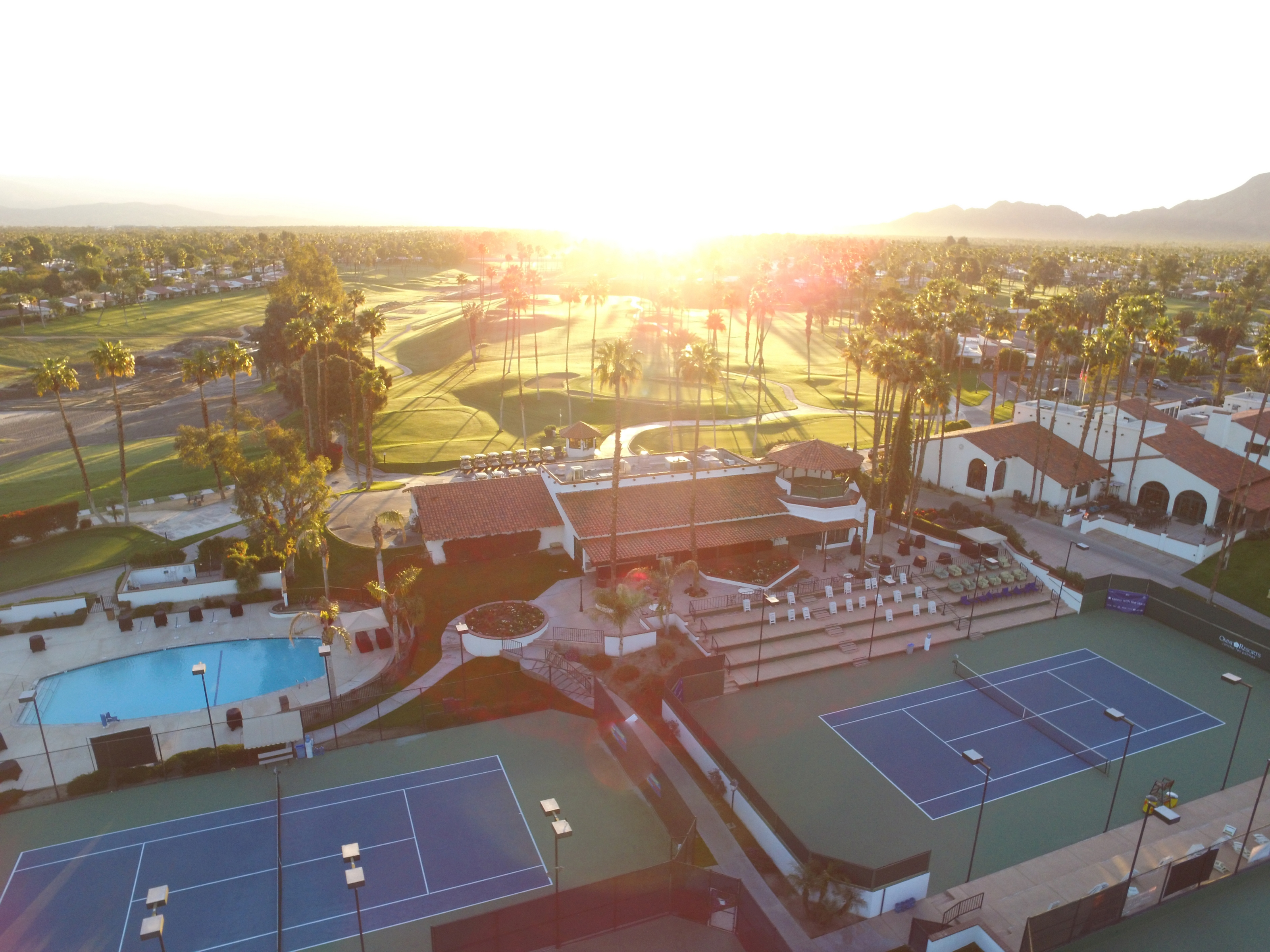 Omni Rancho Las Palmas Tennis and Golf Vacation