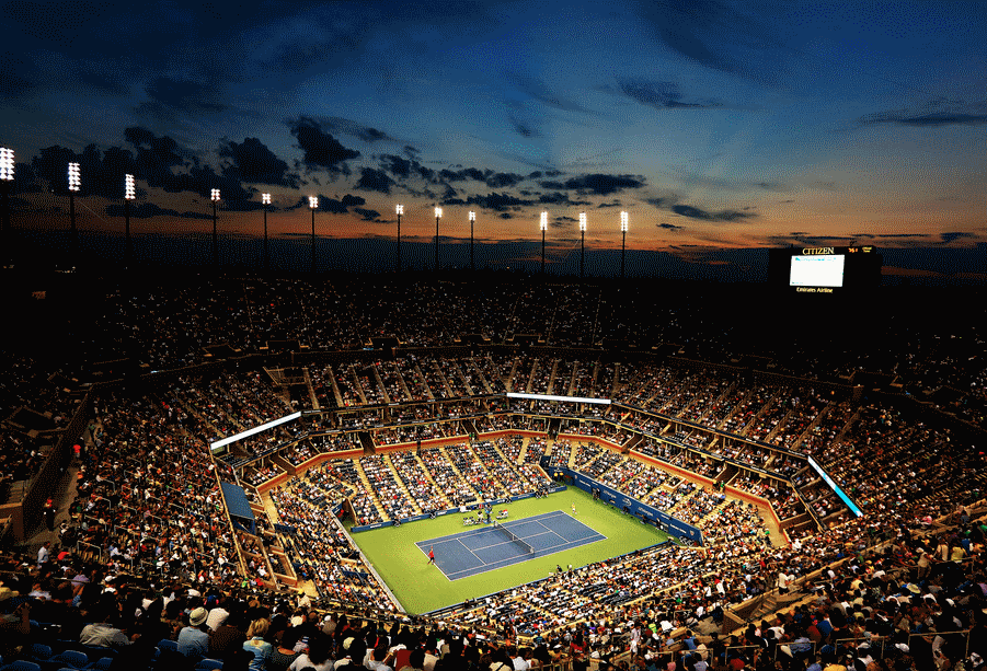 Family Tennis at The US Open