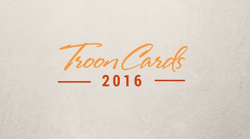 Troon Launches 2016 Troon Cards