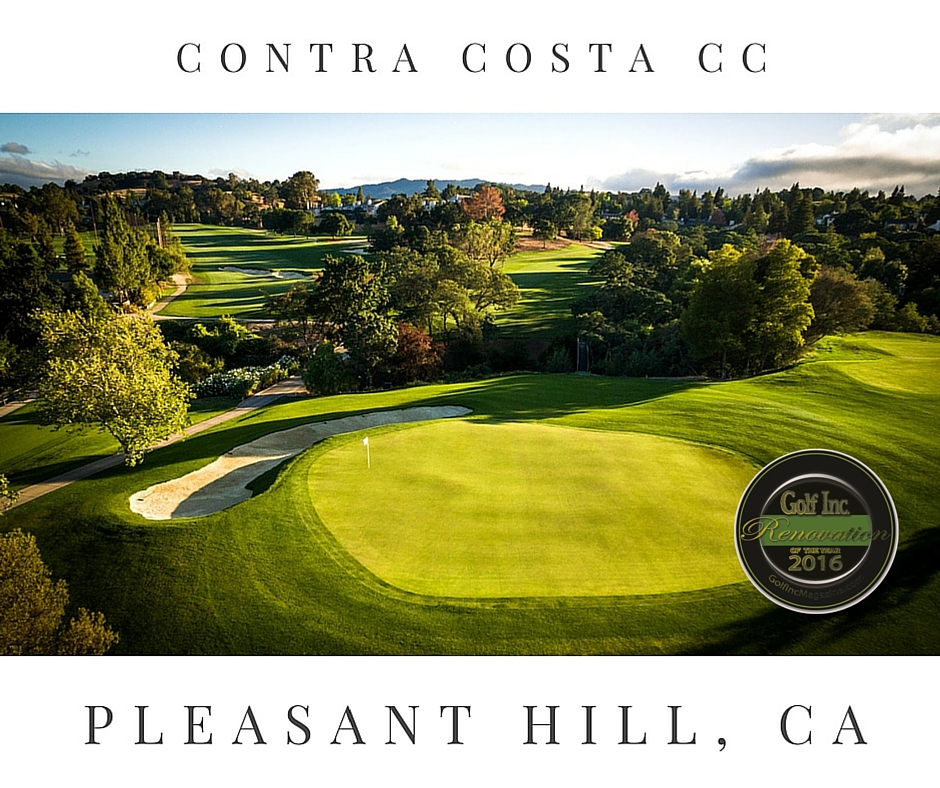 Contra Costa Country Club Wins with Golf Inc. - Membership Available