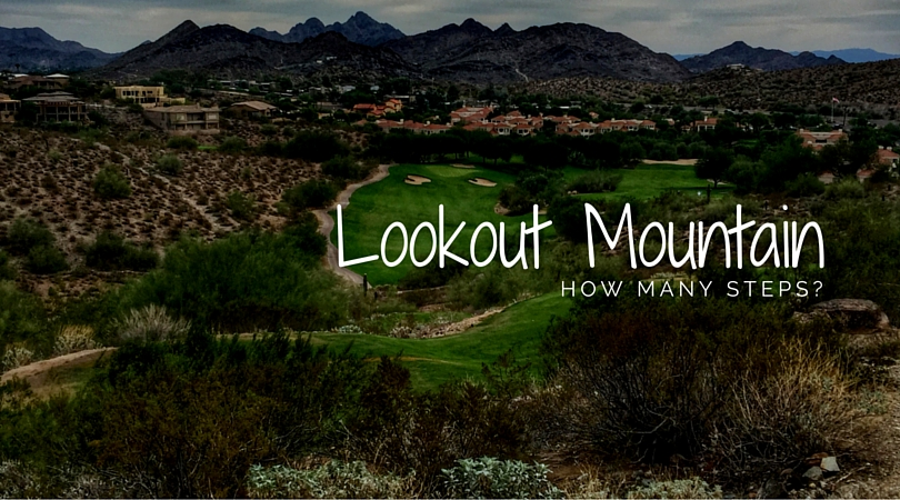 Lookout Mountain Golf Club: How many steps?