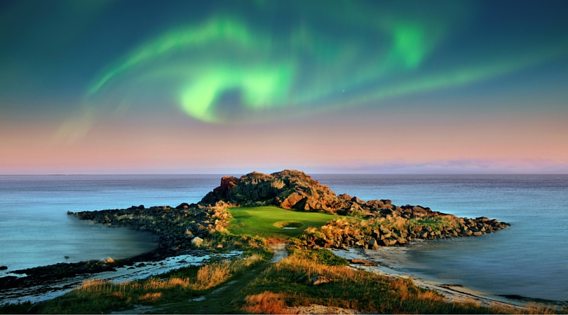 Northern Beauty: Lofoten Links - Hole 2