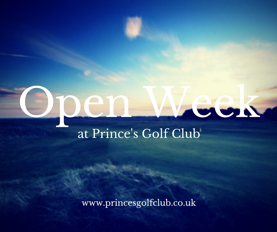 Open Week at Prince's Golf Club