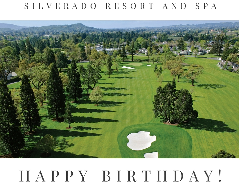 Free Birthday Golf at Silverado Resort and Spa, Napa Valley