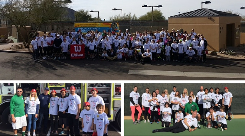 Troon Country Club hosted 6th annual Special Olympics Arizona Tennis Fun Day