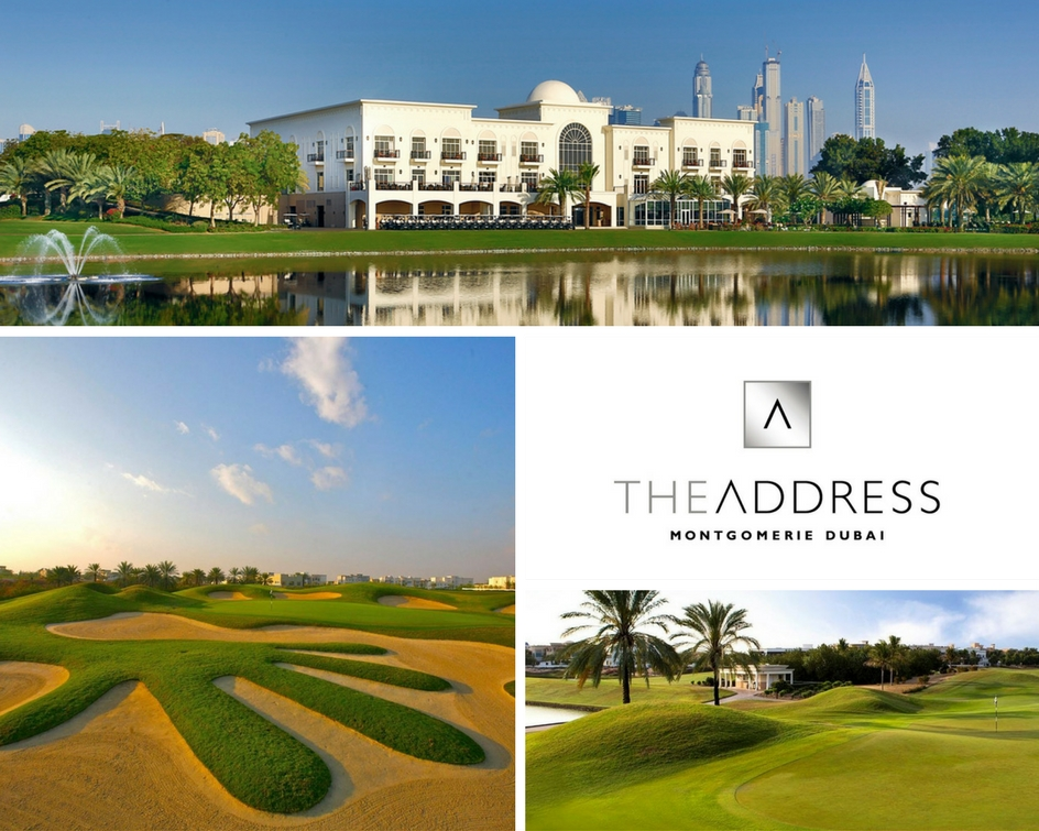 Stay and Play at The Address Montgomerie Dubai Golf Resort + Spa