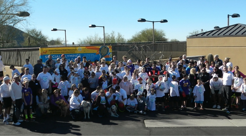 Troon Country Club to host 6th annual Special Olympics Arizona Tennis Fun Day