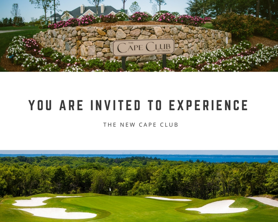 You are invited to experience The NEW Cape Club!