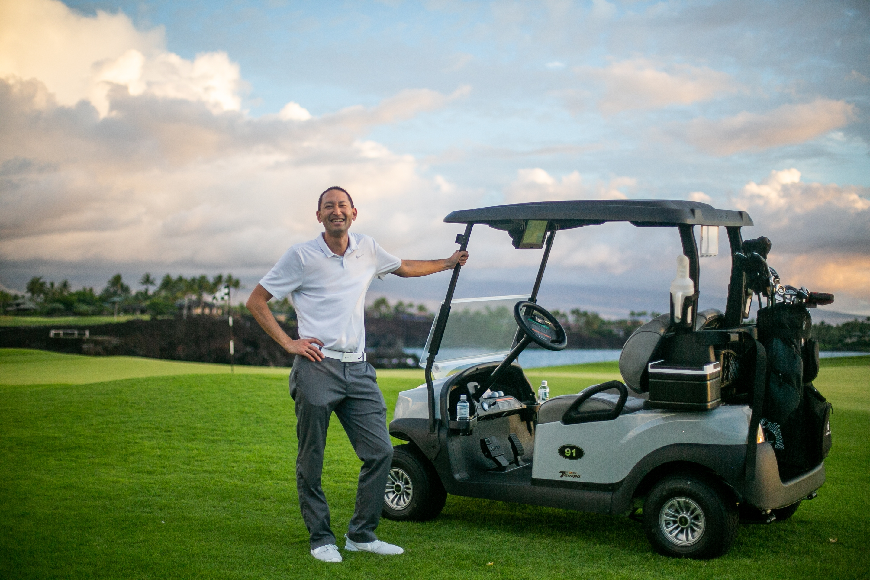 MAUNA LANI GOLF NAMES CHRIS NODA DIRECTOR OF GOLF