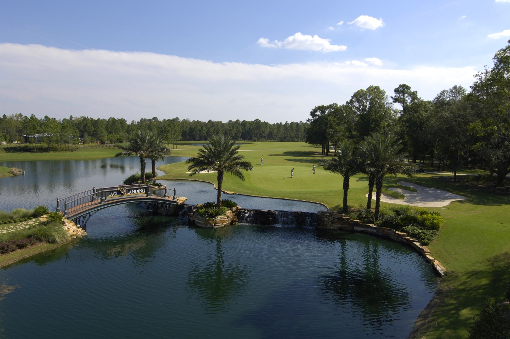 TROON'S HONOURS GOLF DIVISION SELECTED TO MANAGE  EAGLE LANDING AT OAKLEAF PLANTATION