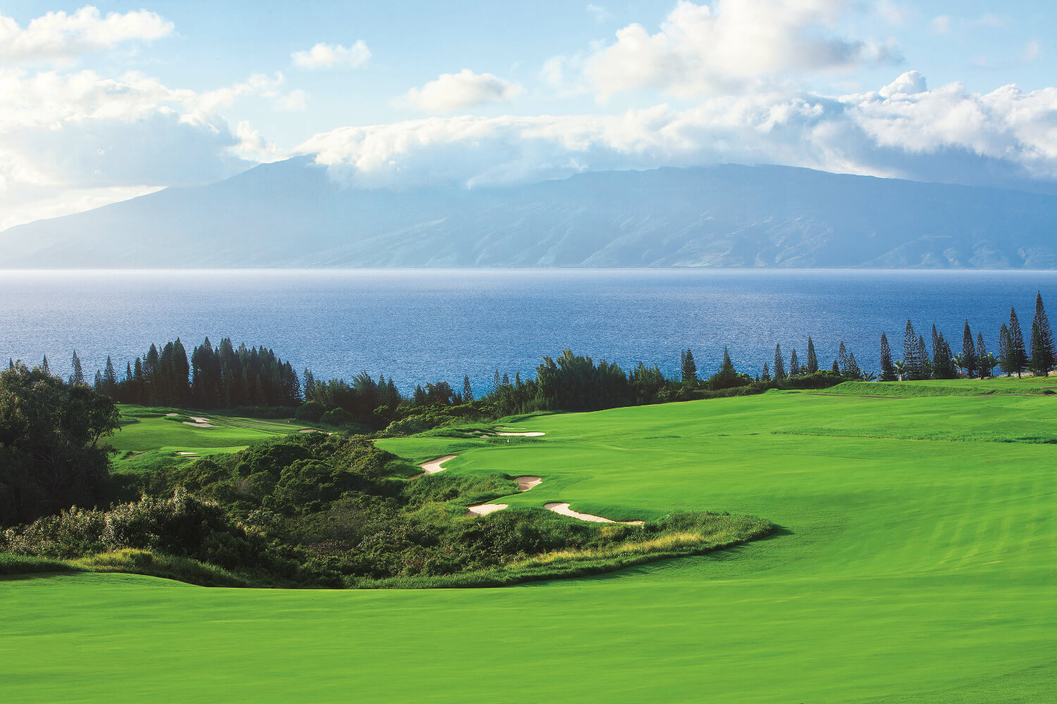 KAPALUA GOLF'S PLANTATION COURSE TO UNDERGO  MULTI-MILLION DOLLAR ENHANCEMENT