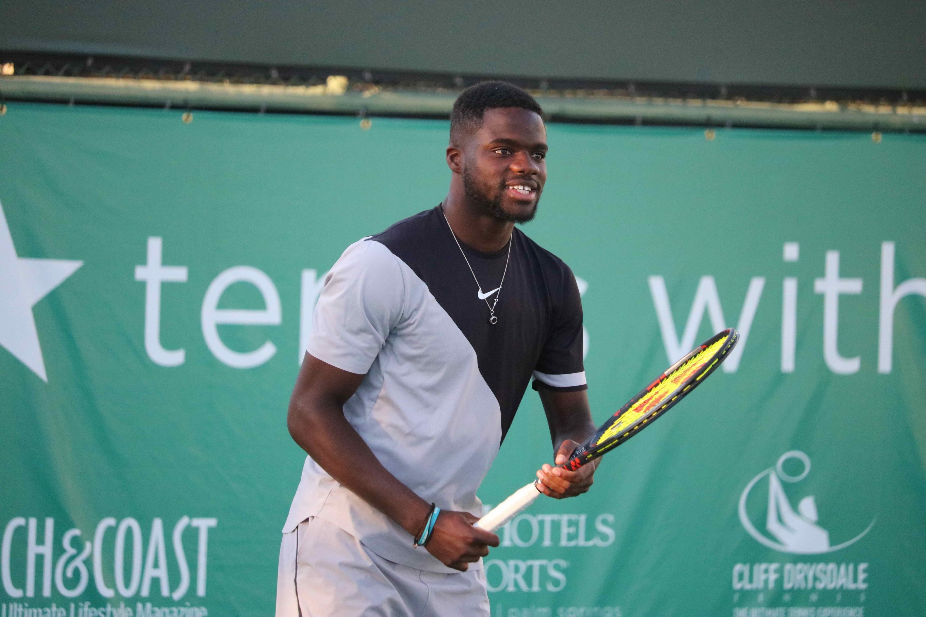 FRANCES TIAFOE HEADLINES 2019 TENNIS WITH THE STARS