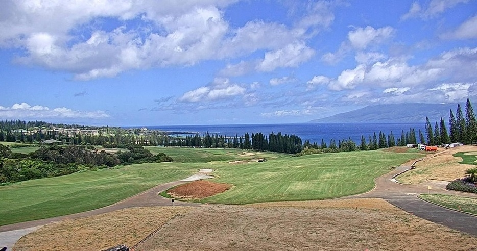KAPALUA GOLF'S PLANTATION COURSE GROWING CLOSER TO NOVEMBER REOPENING