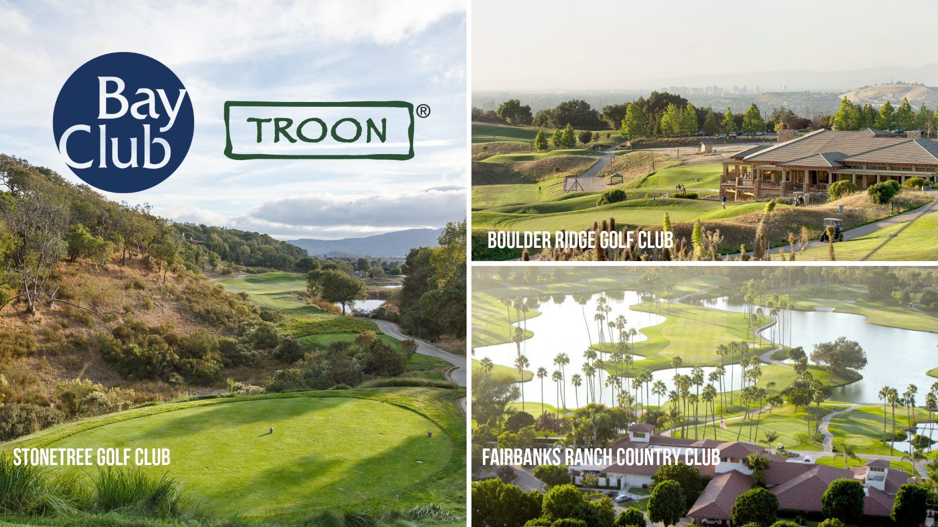 TROON SELECTED TO MANAGE THE GOLF OPERATIONS FOR THE BAY CLUB COMPANY