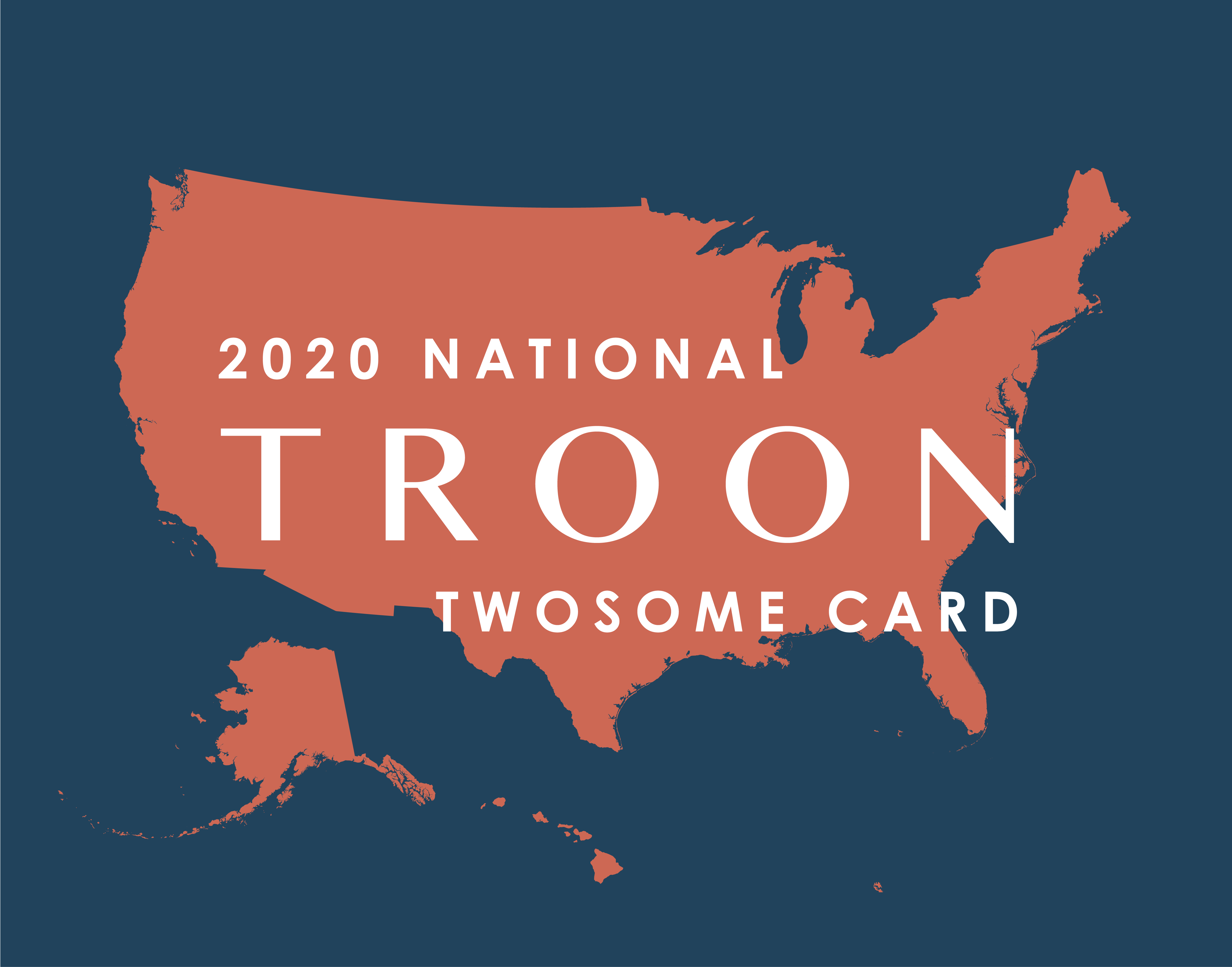 2020 National TwoSome Card
