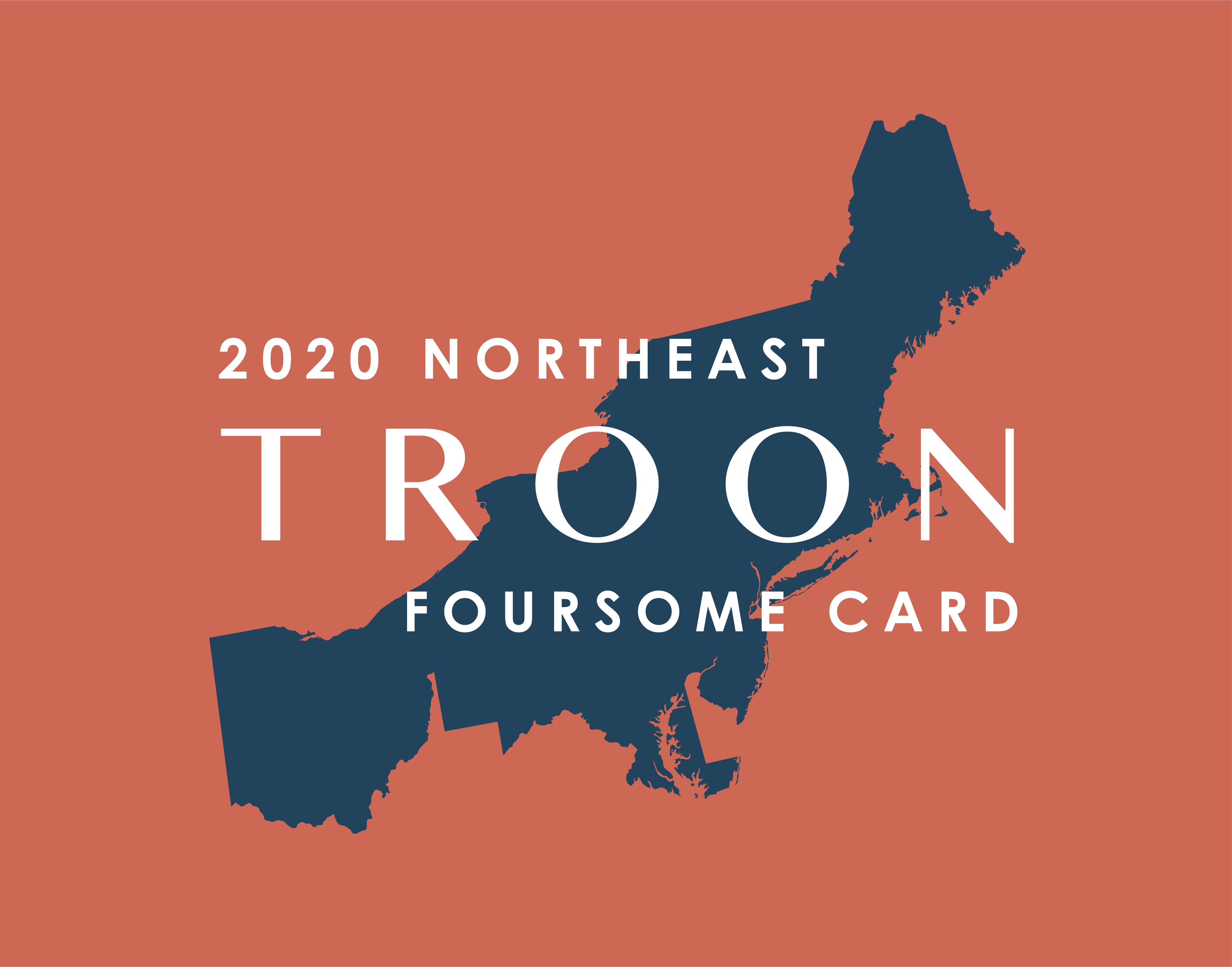 2020 Northeast FourSome Card