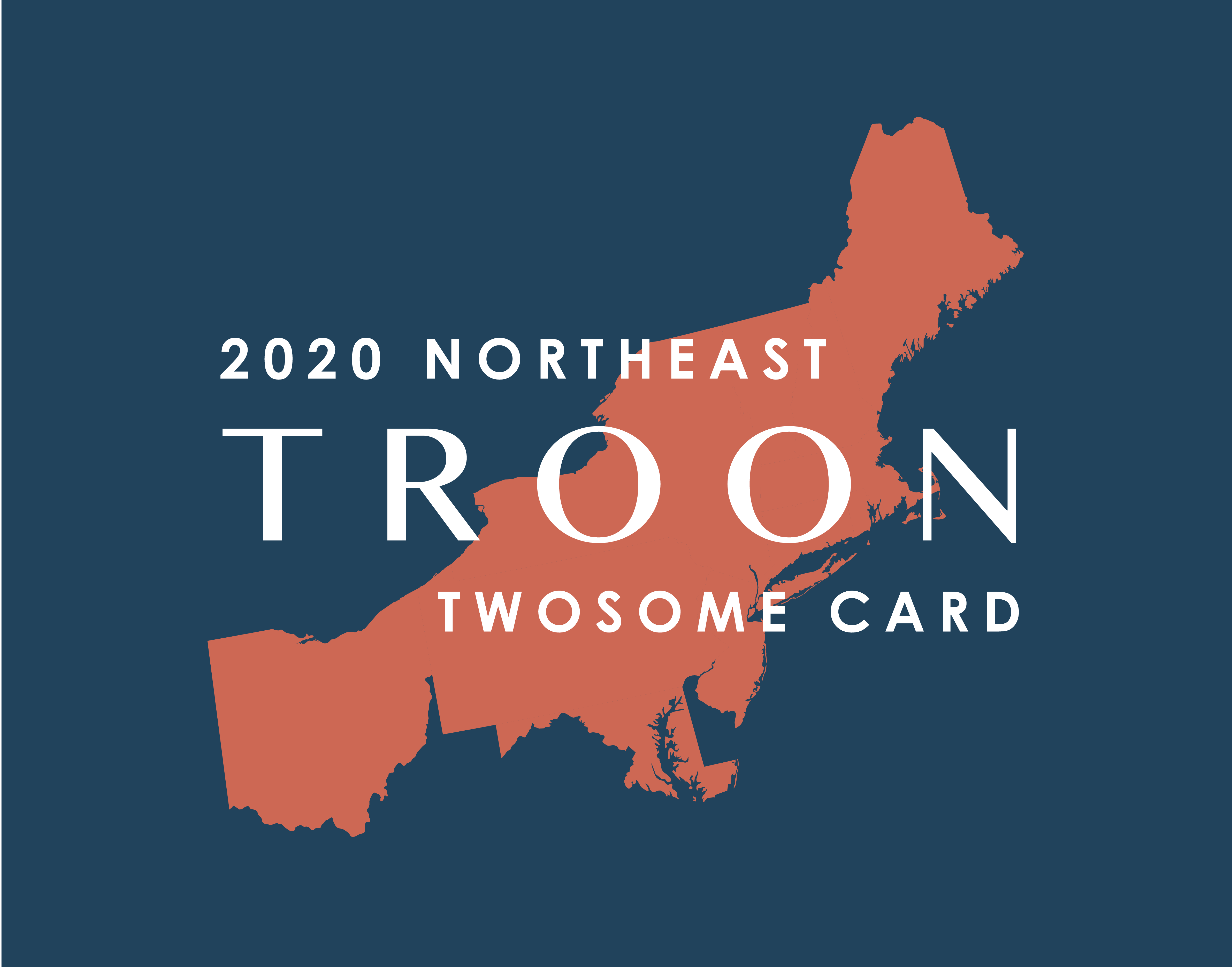 2020 Northeast TwoSome Card