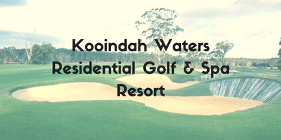 Kooindah Waters Residential Golf & Spa Resort