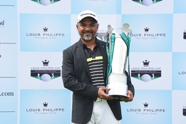 Rahil Gangjee Saves Best for Last, Equals Course Record En Route to Louis Philippe Cup Victory