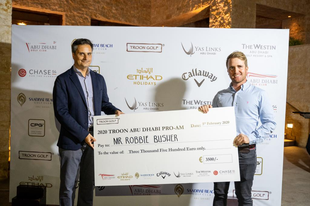 Busher Defends his Troon Abu Dhabi Pro-Am Title After Terrific Final Round