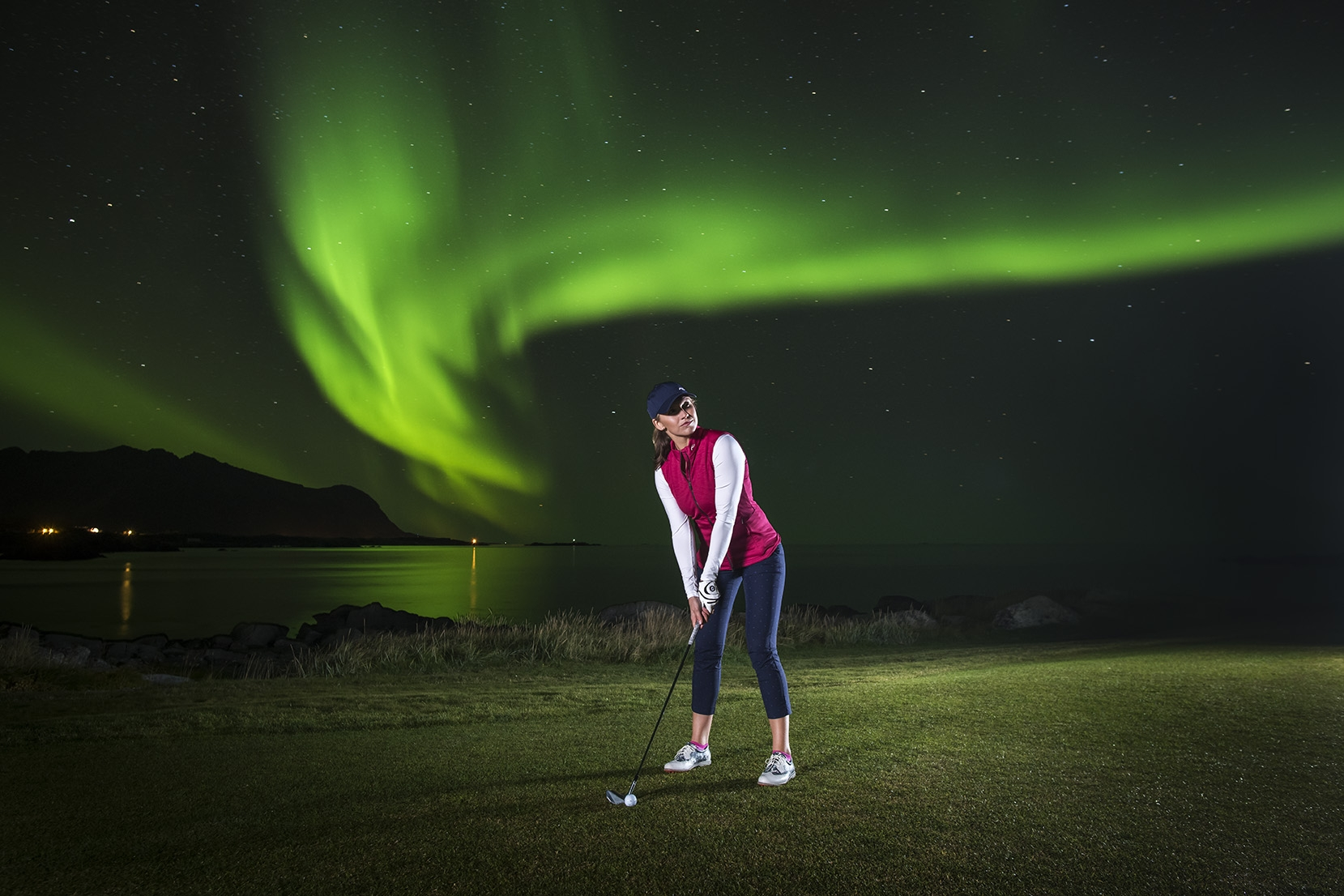 In Pursuit of Magic: Golf Under the Northern Lights