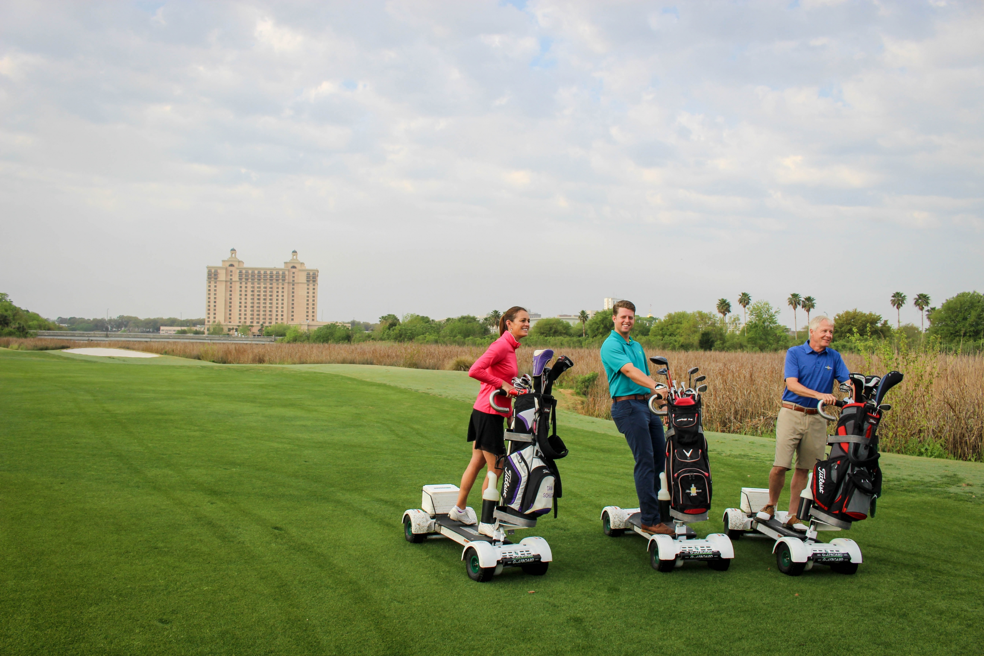 Surf the Earth with a Golfboard at Select Troon Locations