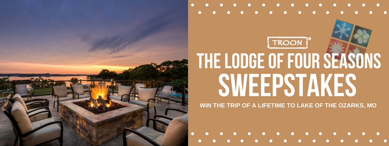 "TROON, THE LODGE OF FOUR SEASONS & SHIP STICKS LAUNCH NEW ""THE LODGE OF FOUR SEASONS SWEEPSTAKES"""