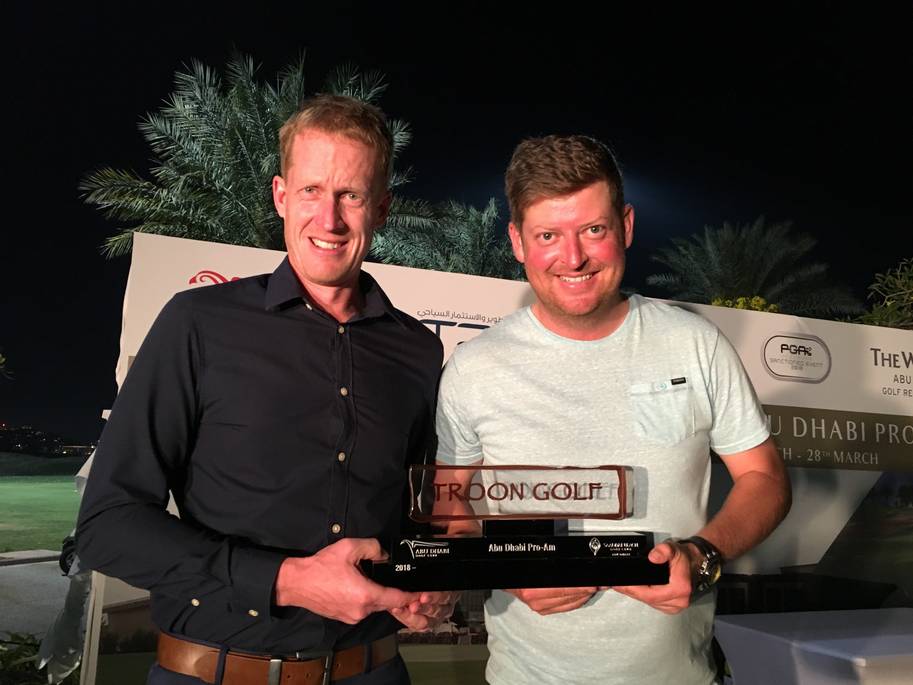 Gane & Keyser Share Honours at Troon Golf Abu Dhabi Pro-Am