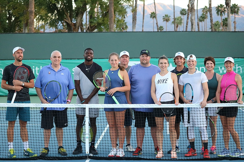 2019 TENNIS WITH THE STARS TO BENEFIT DESERT ARC