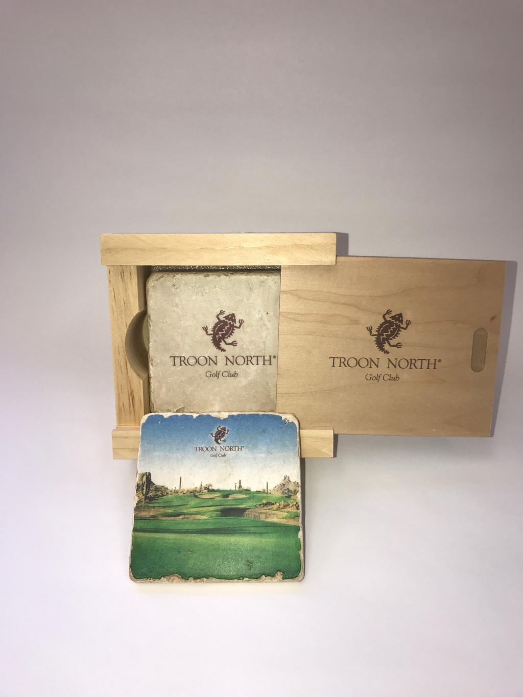 Troon North Stone Coaster Set of Four