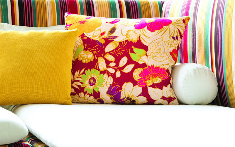The Home Decor collection offers 100% polyester fabrics - from silky chiffon to vegan leather.