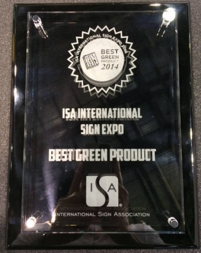TVF Wins at the 2014 ISA Expo!