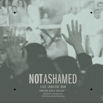 Not Ashamed Chord & Lyric Chart Downloads
