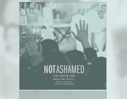 Not Ashamed DVD