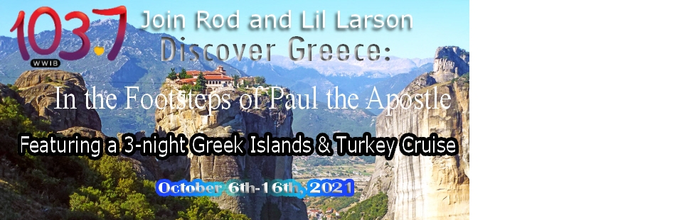 Discover Greece with Rod & Lil Larson